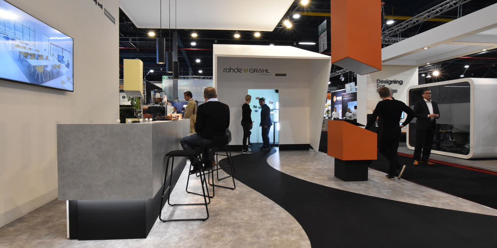 beursstands standontwerp beursevent standbouw alphen aan den rijn zuid holland tebont design
